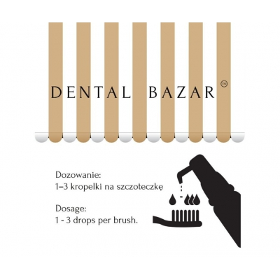 DENTAL BAZAR D'Essence Ginger - fresh breath - świeży oddech kropelki z imbirem i kardamonem10ml